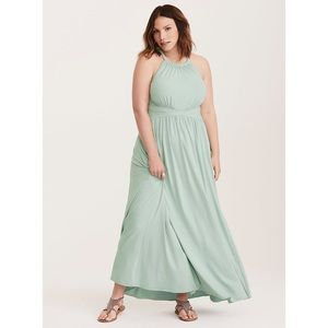 Torrid High Neck Jersey Maxi Dress Size 2 (2X)